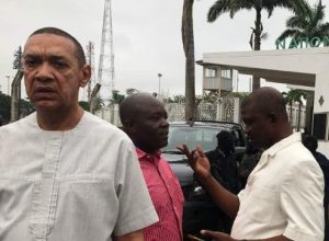 """The Plan Is To Install Akpabio As Senate President And Impeach Saraki"" – Ben Bruce"