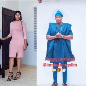 Juliet Ibrahim Celebrates Iceberg Slim On His Birthday Amid Breakup Rumor