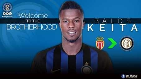 Inter Milan Signs Keita Balde On Loan From AS Monaco (Photos)