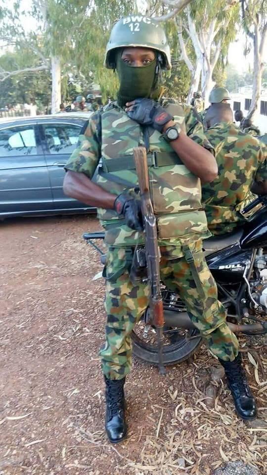 Boko Haram Kills Nigerian Soldier, Olobi Abdulazeez (Photo)