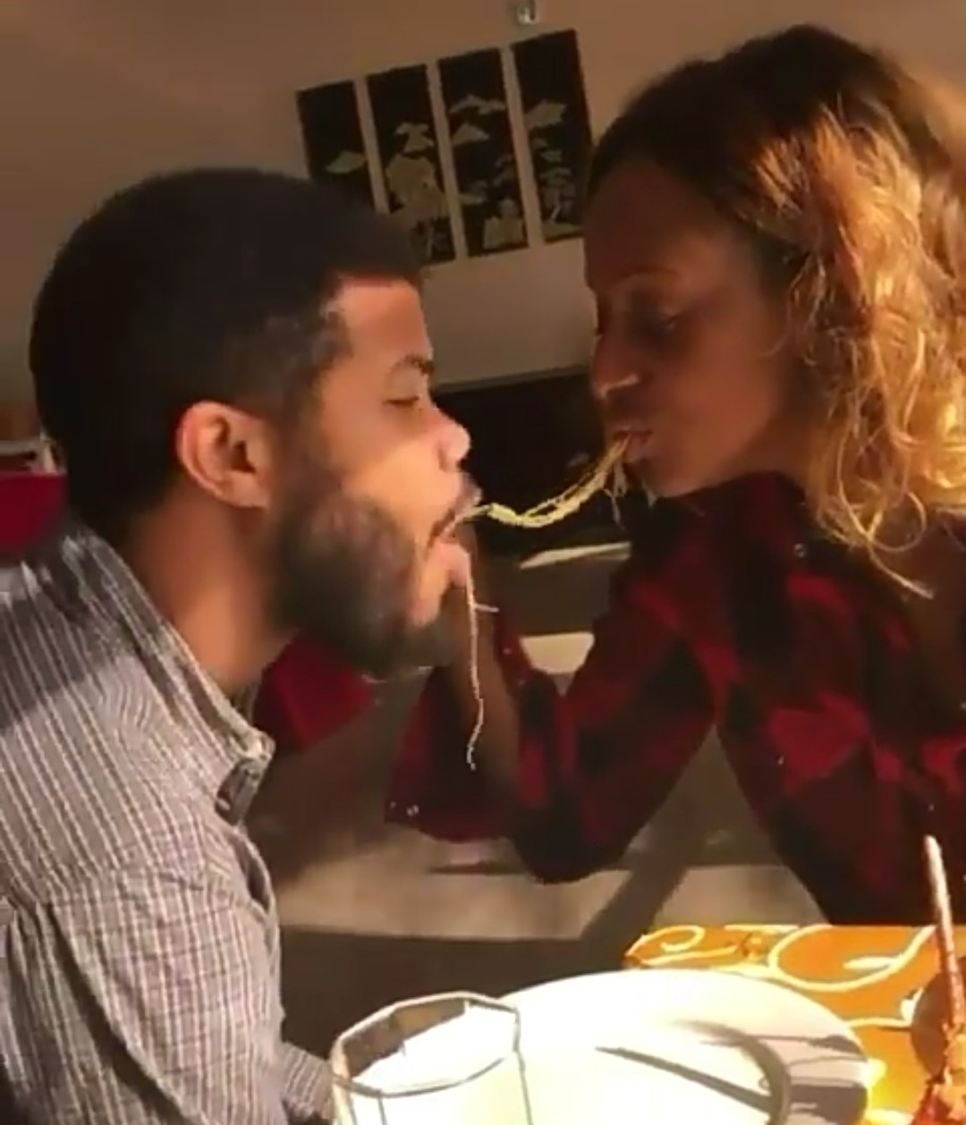 Billionaire Daughter, DJ Cuppy Feeds Her Boyfriend Mouth-To-Mouth Bird-Style (Photos)