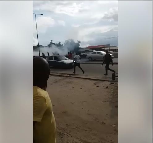 Gunshots At APC Secretariat As Thugs Clash In Port-Harcourt (Photos)