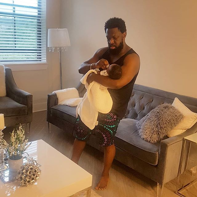 Timaya Celebrates His 38th Birthday As He Cuddles His Son In Adorable Photo