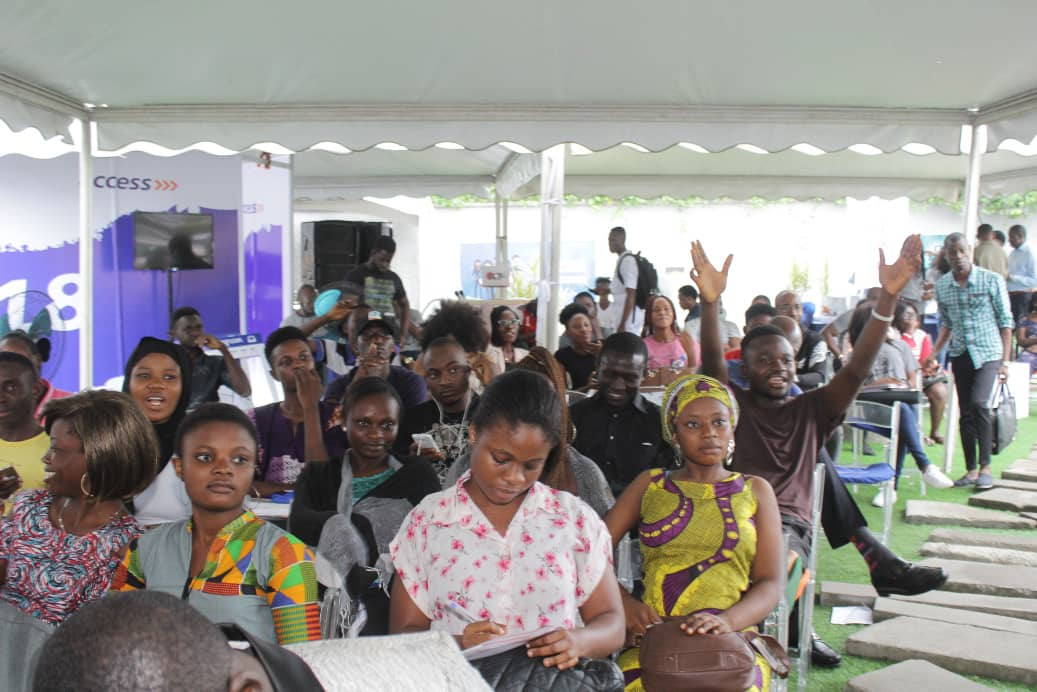 World Youth Day: 1000 Unilag Students Join Access Bank To Celebrate (Photos)