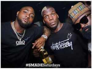 Davido And Footballer, Paul Pogba's Twin Brother Social gathering Collectively (Pictures)