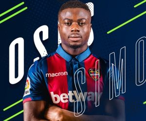 Super Eagles Star, Moses, Unveiled In Spain After Signing For Levante (Photos)