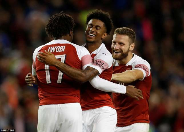 Iwobi Happy To Score Winning Penalty Against Chelsea