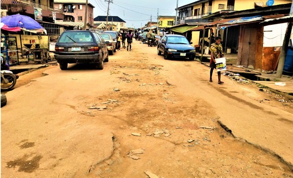Check Out The Deplorable Condition Of Roads In Mafuluku, Lagos (Photos)