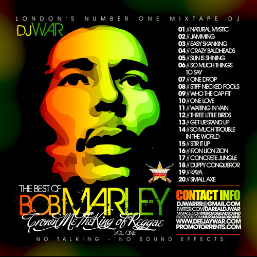 Download Mixtape Mp3:- Best Of Bob Marley - 9jaflaver