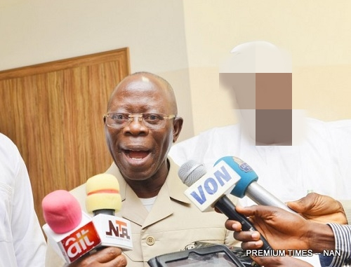 2019: Voting PDP Is Returning To Egypt - Oshiomhole - 9jaflaver