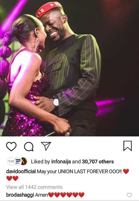 "#ViralNow: ""May Your Union Last"" - Davido wishes Simi and Adekunle Gold 2"