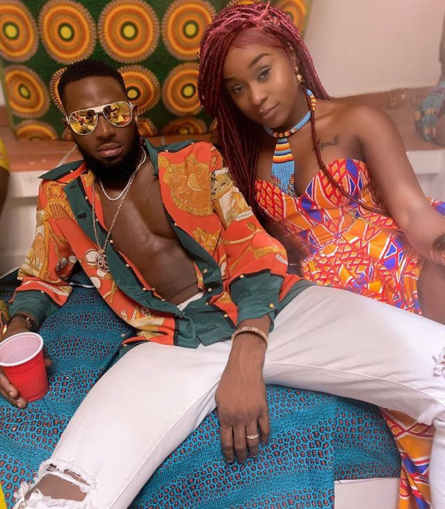 #ViralNow: D'banj Pictured with Ghanaian Actress, Efia Odo 1