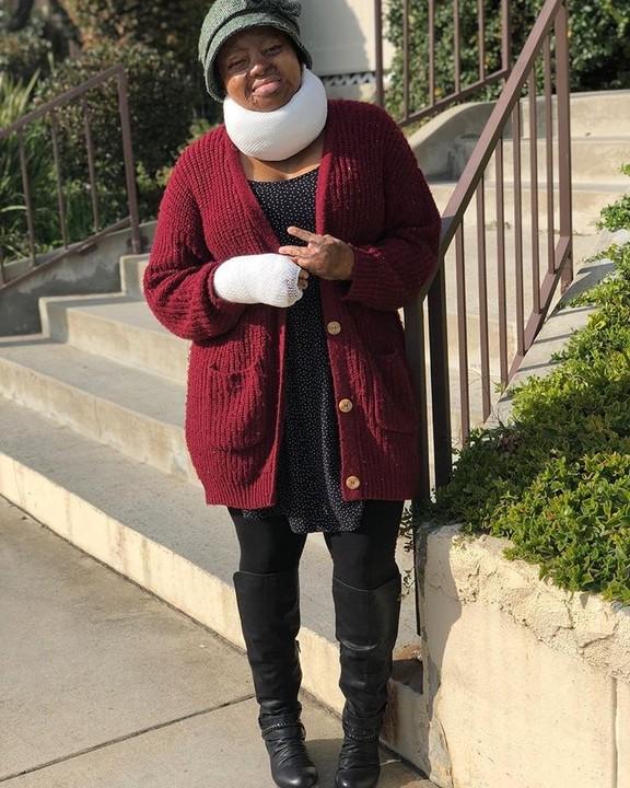 #ViralNow: Sosoliso Plane Crash Survivor & Singer, Kechi, Undergoes Another Surgery (Photos) 5