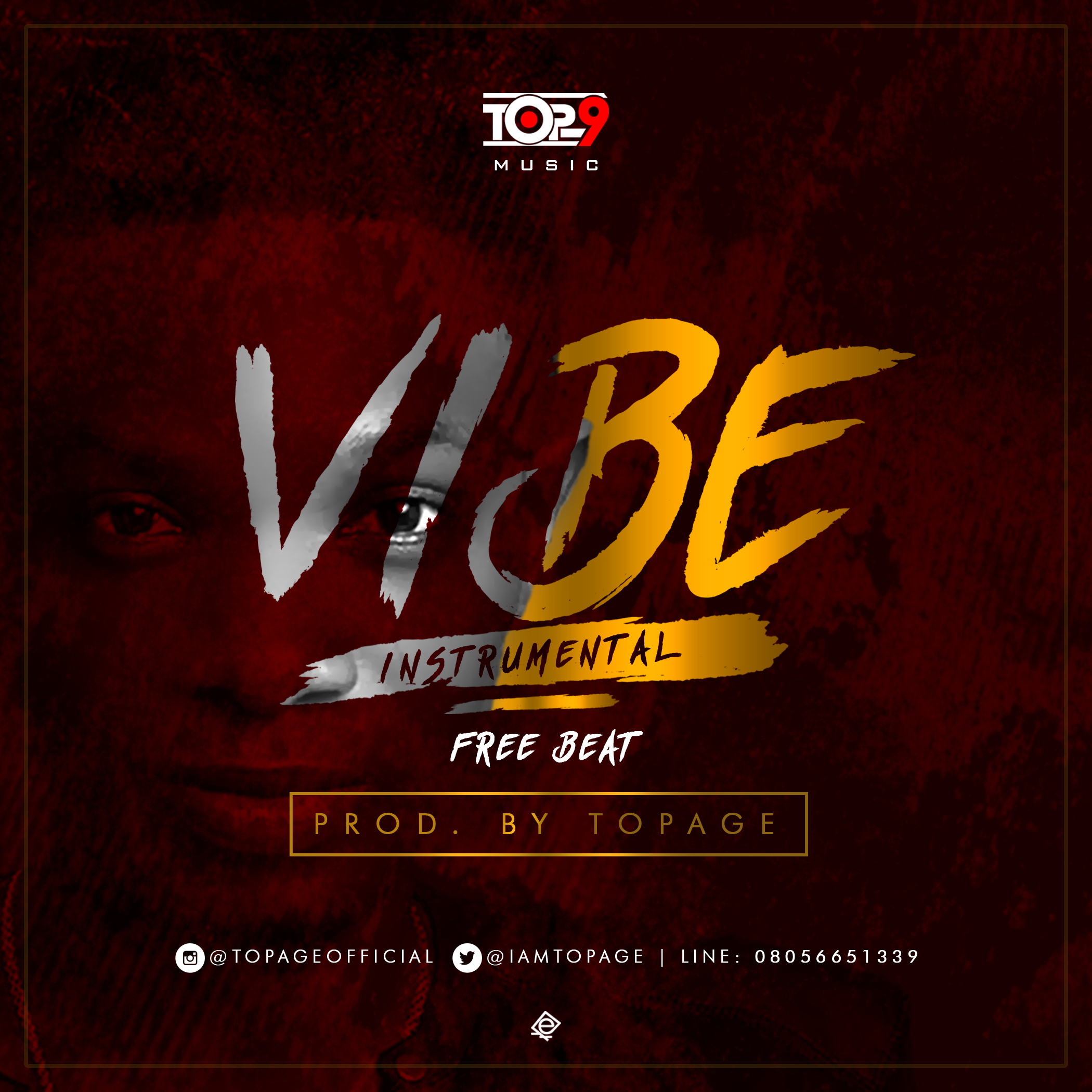 Download Freebeat:- Vibe (Prod By Topage) - 9jaflaver