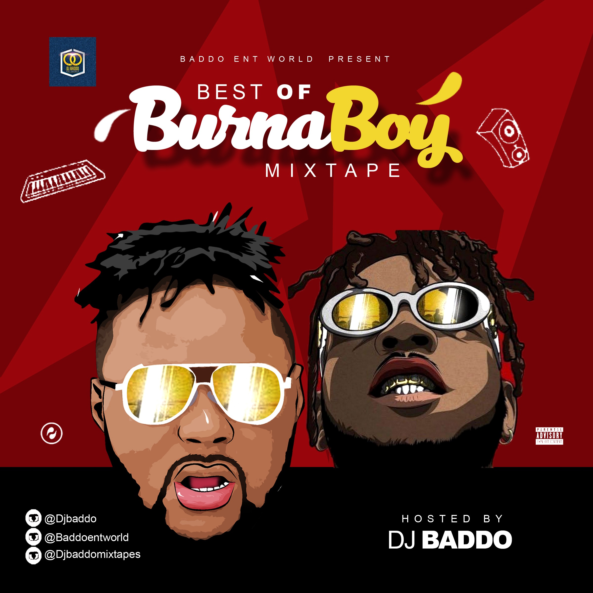Download Mixtape Mp3:- DJ Baddo - Best Of Burna Boy - 9jaflaver