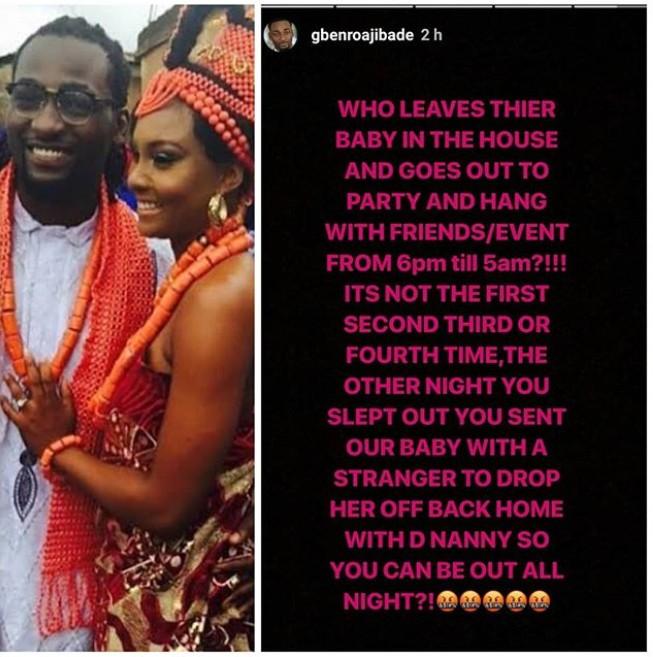 #ViralNow Crisis: Actor Gbenro Ajibade Exposes His Wife, Actress Osas Ighodaro (Photos) 1