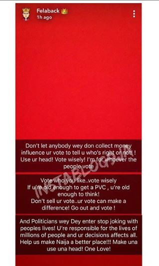 #ViralNow: Wizkid advises against voting someone because a paid celebrity endorsed them 2