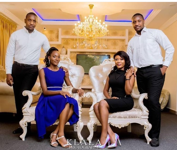 Traditional Wedding Photos Of Identical Twin Brothers - 9jaflaver