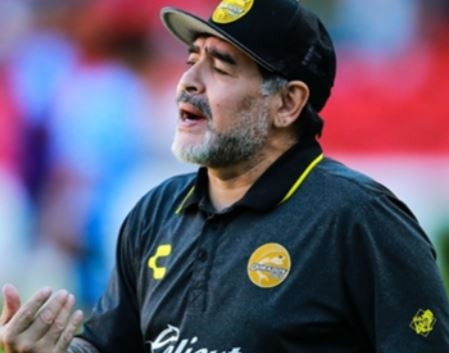 Diego Maradona To Resign As Coach Of Mexican Club, Dorados Over 'Referee Bias