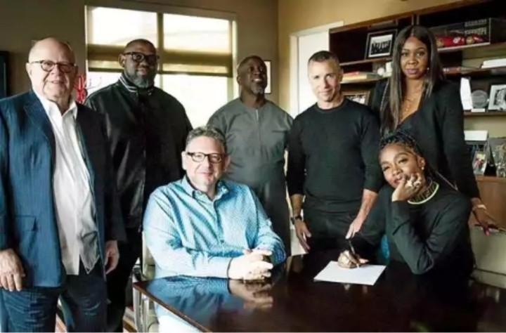 Davido Celebrates Tiwa Savage For Signing Universal Music