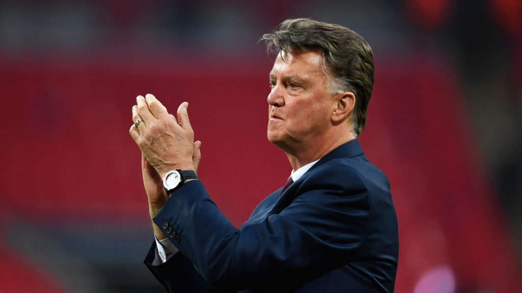 Former Manchester United Manager, Louis Van Gaal, Has