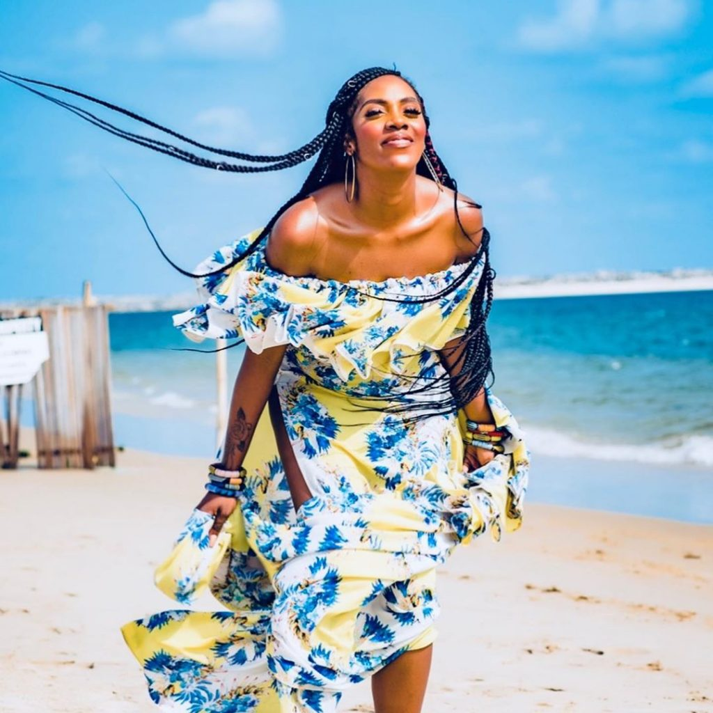 Tiwa Savage Storm The Beach with Stunning Sweet photos