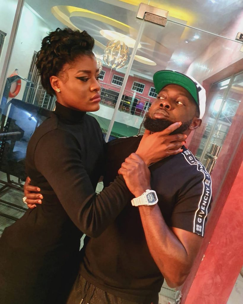 "BBNaija Star ""Alex"" Attempted To Strangle AY Comedian On Set Of Movie Shoot"