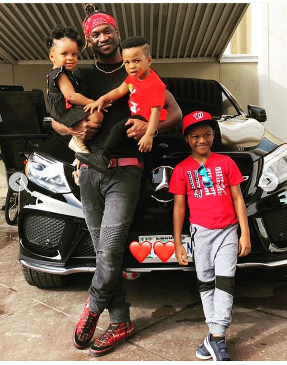 Paul Okoye Celebrates Father's Day With His Children, Shares Photos