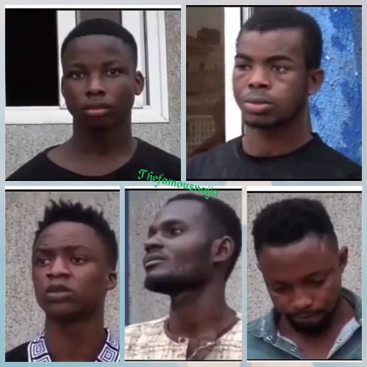 5 Nigerians Rob And Rape Ghanaian Lady In The Presence Of Her Husband