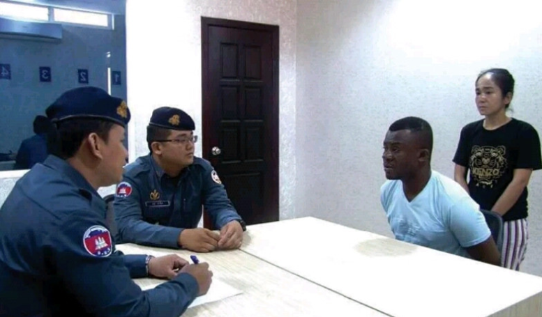 Nigerian Man And His Girlfriend Arrested In Cambodia For Online Fraud