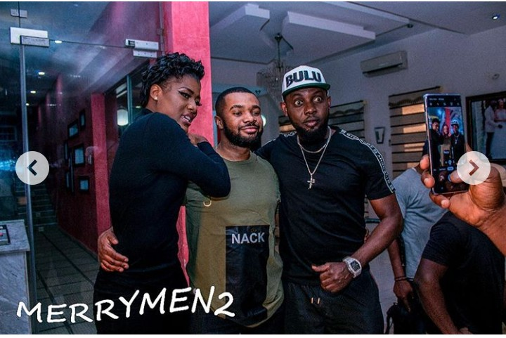 Williams Uchemba Joins Ramsey Nouah, Jim Ikye And AY Makun For 'Merry Men 2'