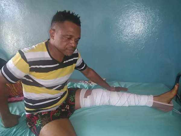 Nollywood Actor, Egbe Igwe, Involved In Accident (Photos