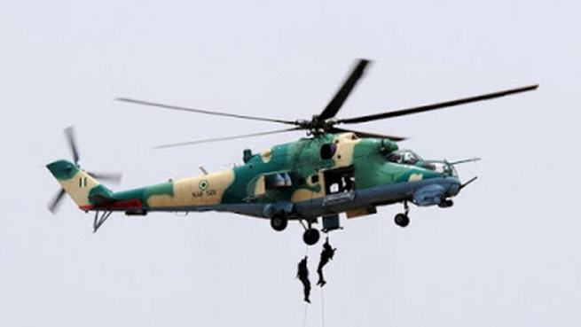 "Air Force Denies Report Of Helicopters ""Dropping Weapons"" For Herdsmen In Enugu"