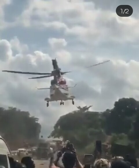 Aviation Authority Investigates Helicopter's Landing On