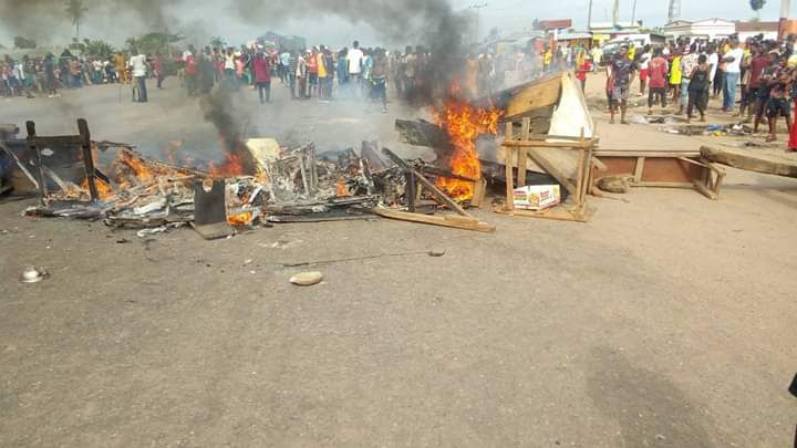 Bloody Clash Between Fulani And Benin Youths Averted By Police (Photos)