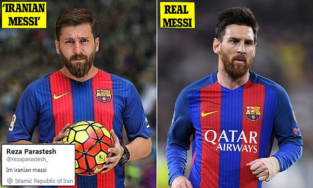 Meet The Self-Styled 'Iranian Messi' Accused Of Sleeping With 23 Women By Pretending To Be The World's Best Player (Photos)