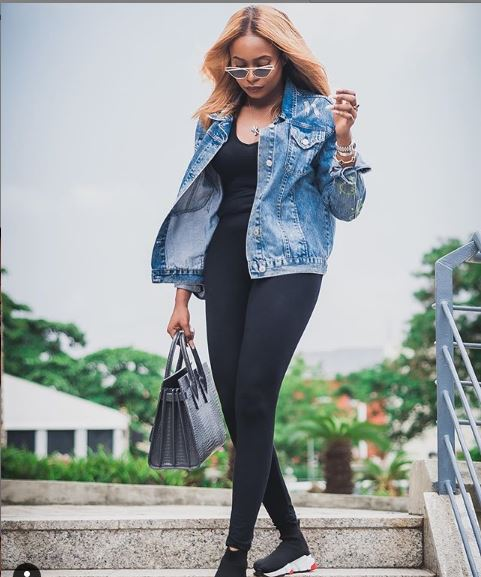 """NEGATIVITY IS NOISE ! killem with success K DONT LOOK BACK"" – VP's Daughter Stunt in New Photo"