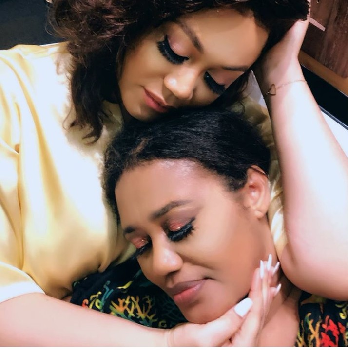 Ghanaian Actress, Nadia Buari Celebrates Her Mum On Her Birthday With Lovely Photos