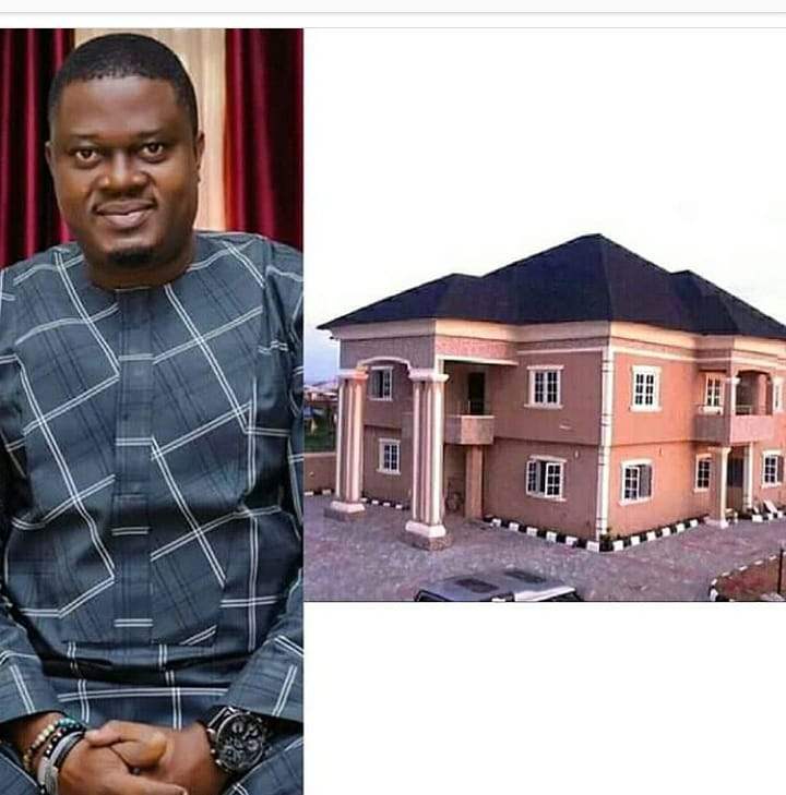 Actor Muyiwa Ademola Acquires A New House (Photo)