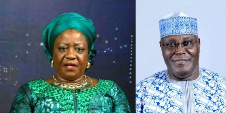 Atiku Files N2.5bn Libel Suit Against Buhari's Aide, Lauretta Onochie