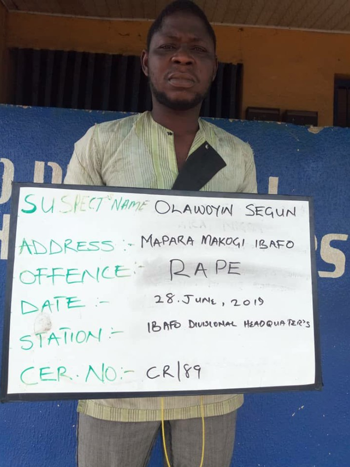 The Man Defiled A 16-Year Old Girl (Police Arrested)