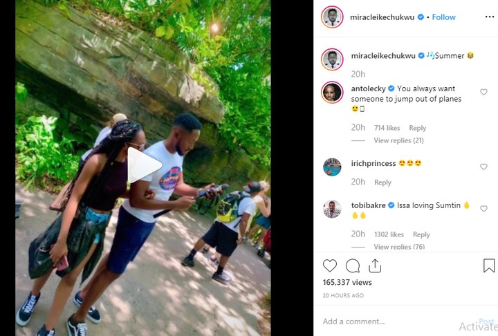 Tobi And Anto React As Miracle Shows Off His Girlfriend