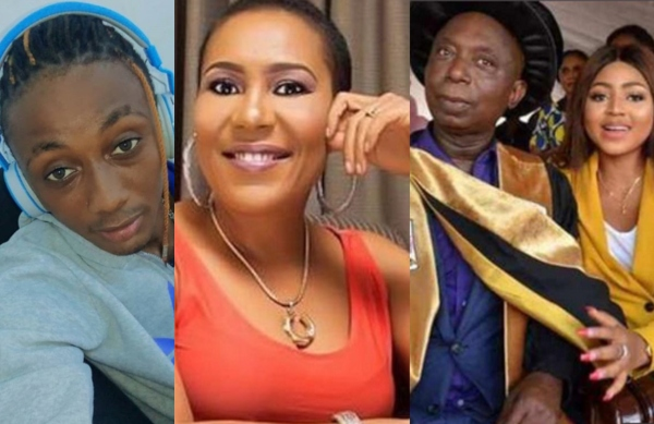 Fake Chat – Shan George Reacts To Claims Of Begging For Ned Nwoko's Number By His Son
