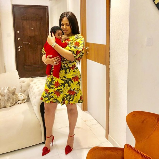 Tania Omotayo Shares Adorable Photo With Her Daughter
