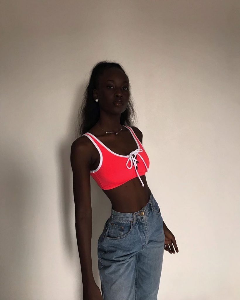 Cute Model Flaunts Her Dark Skin Tone As She Slays In These Photos 9jaflaver