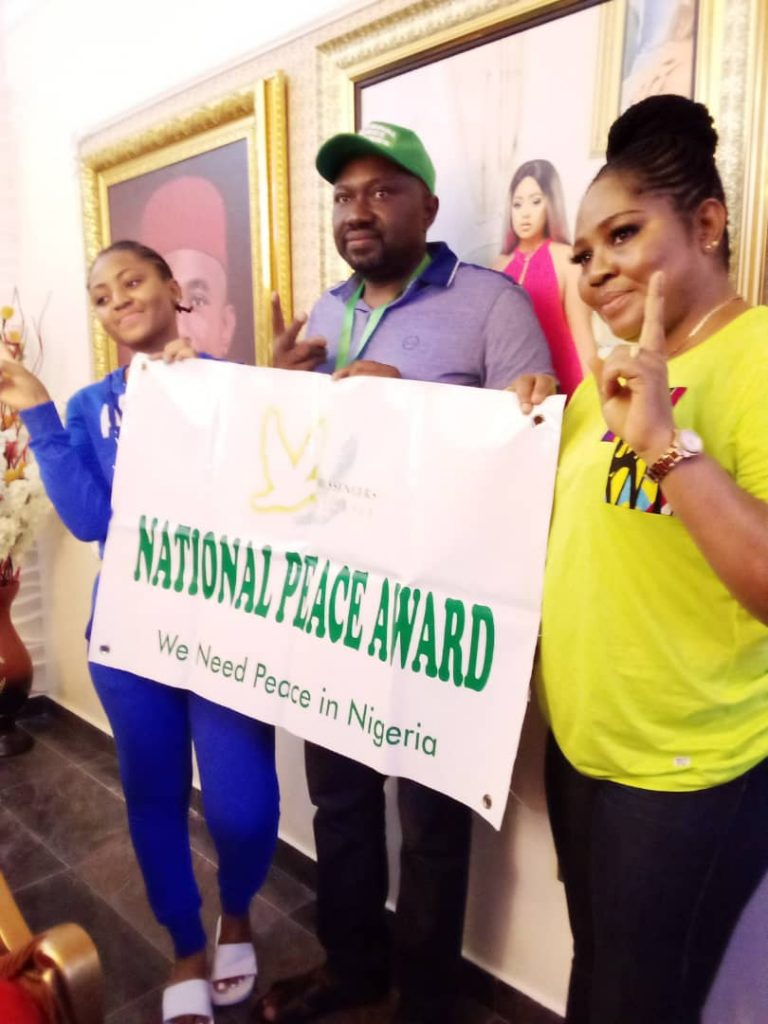 NEWS — Okorocha, Regina Daniels Celebrate Messengers Of Peace Kids, Offer Scholarship