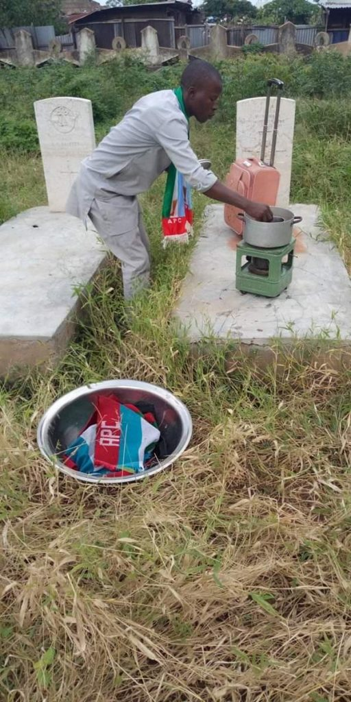 LATEST NEWS:— Ohikwe Ahmed Relocates To Cemetery Over Edward Onoja's Abuse Of Power