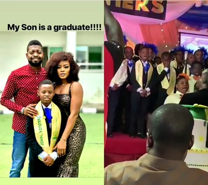 Jason Okpocha Performing On Stage During His Graduation Day — BasketMouth
