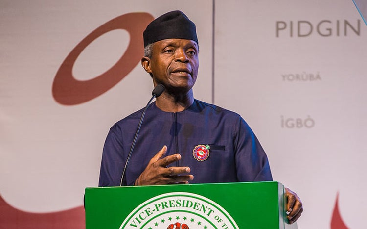 Break-up Is Not Solution To Nigeria's Problems' — Osinbajo
