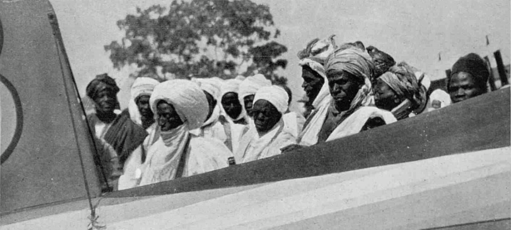 SHOCKING! See The First Aeroplane That Landed In Bauchi In 1928
